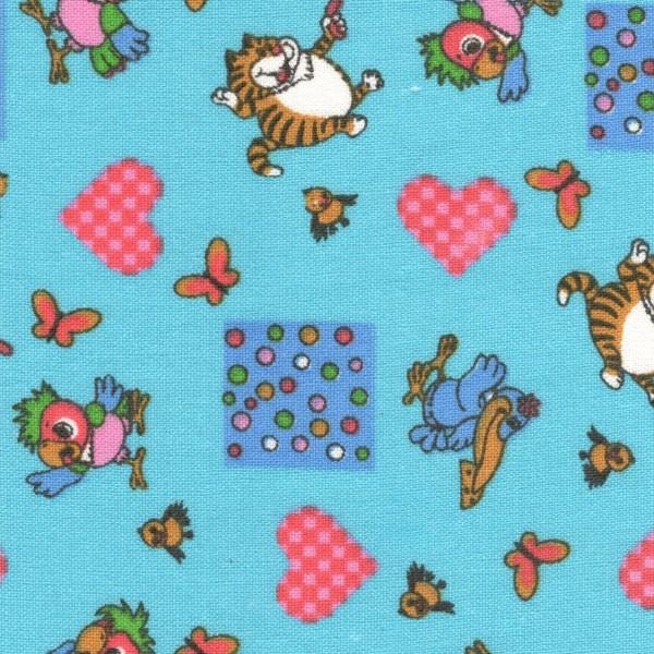 Байка 158-4п Попугай кеша (голубой)