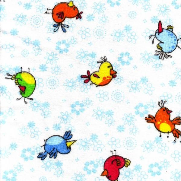Байка 644-3п птички (голубой)