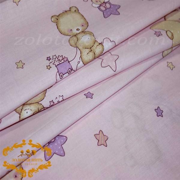 Бязь Gold UXT 488-3 Pink