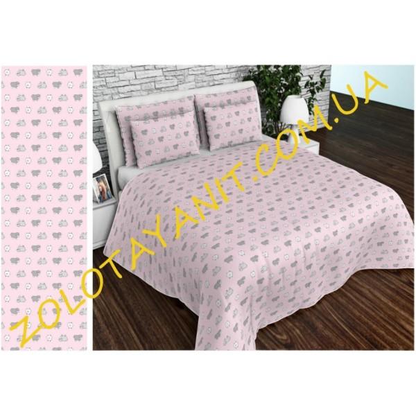 Бязь Gold UXT 692-1 Pink