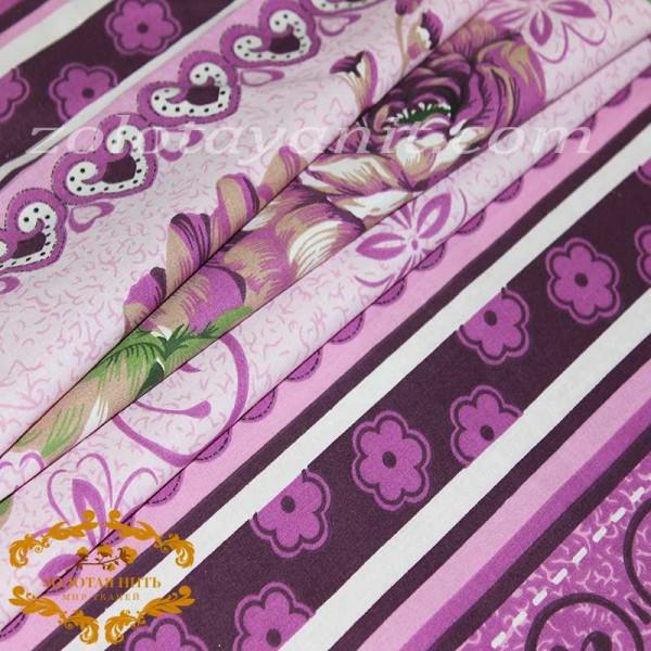 Бязь Gold UXT 494-2 Purple