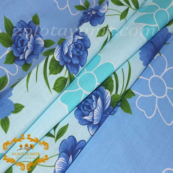 Бязь Gold UXT 626-1 Blue