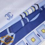 Полиэстер N 6756-1 Blue
